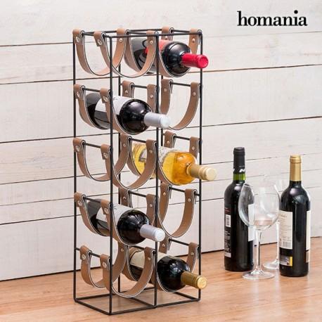 Porte-Bouteilles Métallique Belt Homania (10 bouteilles) élégant