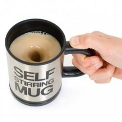 Mug mélangeur automatique avec boisson