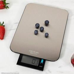 Balance de cuisine numérique Cecotec Cook Control 9000 Waterproof Acier inoxydable élégante
