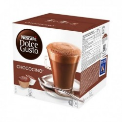 Capsules de café Nescafé Dolce Gusto 12045470 (16 pièces) Chococino