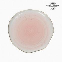 Assiette plate - Collection Kitchen's Deco vue de face