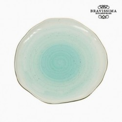 Assiette plate - Collection Kitchen's Deco vue de face