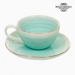 Tasse avec sous-tasse - Collection Queen Kitchen élégante