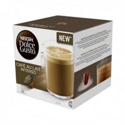 Capsules de café Nescafé Dolce Gusto 45831 Café au lait Intenso (16 pièces)