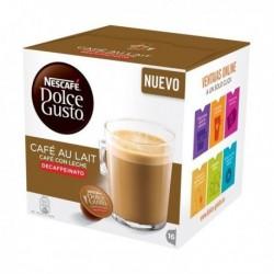 Capsules de café Nescafé Dolce Gusto 97934 Café au lait (16 pièces) Décaféiné