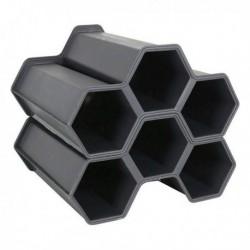 Range Bouteilles Noir (2 pièces) (6 bouteilles)