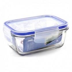 Boîte à lunch hermétique Borgonovo rectangulaire transparent (14.5 x 10 x 6 cm)