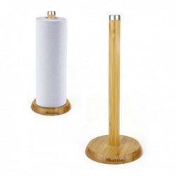 Dérouleur de papier de cuisine Quttin Bambou (diam 16 x 33.5 cm)