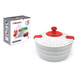 Centrifugeuse à salade Quttin Blanc Rouge (3l) (diam 24cm)