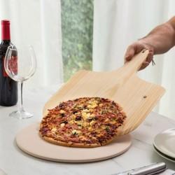 Plat pour pizza & Pelle à pizza simple d'utilisation