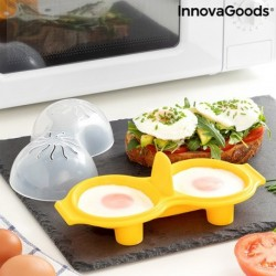 Cuiseur à oeufs en silicone Oovi InnovaGoods innovant