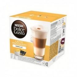Capsules de café Nescafé Dolce Gusto 70676 Latte Macchiato (16 pièces) Vanille
