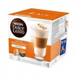 Capsules de café Nescafé Dolce Gusto 24191 Latte Macchiato (16 pièces) Caramel