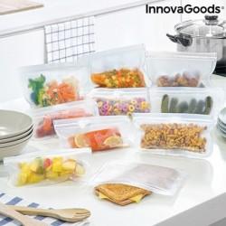 Ensemble de sacs alimentaires réutilisables Freco InnovaGoods 10 pièces fonctionnel