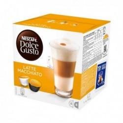 Capsules de café Nescafé Dolce Gusto 98386 Latte Macchiato (16 pièces)