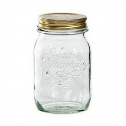 Pot en verre Bormioli Quattro Stag Verre pratique