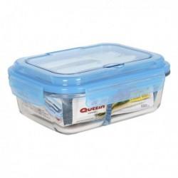 Boîte à lunch avec compartiment à couverts Quttin pratique