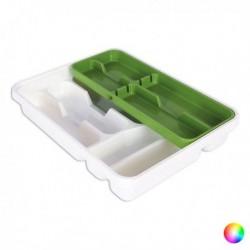 Range couverts Tontarelli Double Plastique (31 x 39,5 x 7 cm) pratique