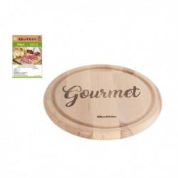 Assiette Gourmet Quttin Bois pratique