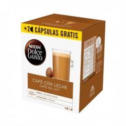 Capsules de café Nescafé Dolce Gusto Cafe au lait (18 pièces)