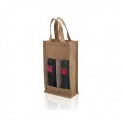 Sac Double pour Bouteilles de Vin (75 cl) 143481