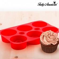 Moule en silicone pour cupcakes fourés tasty américan pratique et innovant