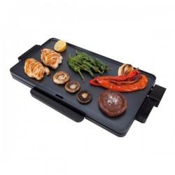 Plancha à Griller Lisse JATA GR213 2000W Noir