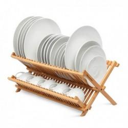 Egouttoir à vaisselle Quttin Bambou pratique