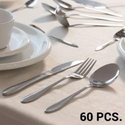 ménagère en acier inoxydable parfait pour une table