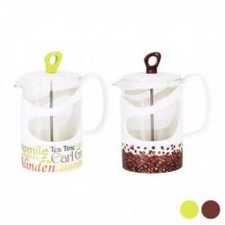Pichet à infusion Tea Time Verre différentes capacités