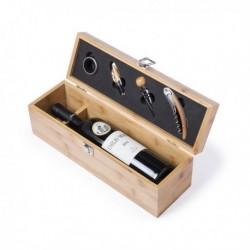 Set à Vin Premium (4 pièces) Bambou 146100 fonctionnel
