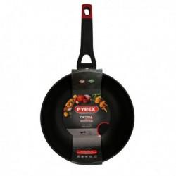 Wok Pyrex Optima+ 28 cm Aluminium 3,5 mm fonctionnel