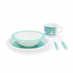 Assiette pour enfant Quid Go Peques Mélamine (5 pièces) élégante