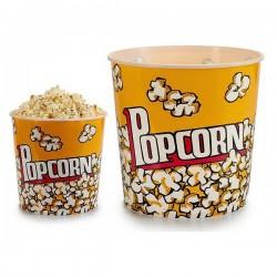 Seau PopCorn (21,5 x 20 x 21,5 cm) fonctionnel