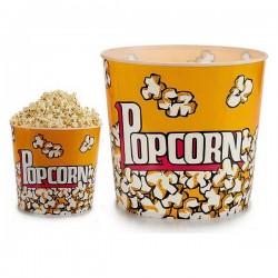 Seau PopCorn (24,5 x 21,5 x 24,5 cm) fonctionnel