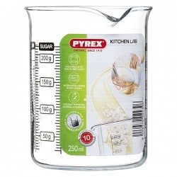 Verre doseur Pyrex Kitchen Lab Transparent fonctionnel