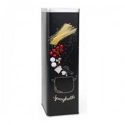 Boîte en métal Privilege Noir (9 X 9 x 30 cm) fonctionnelle