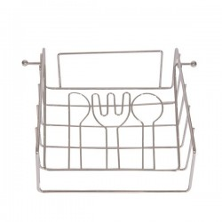 Porte-serviettes Acier (17,2 x 7,5 x 21 cm) fonctionnel
