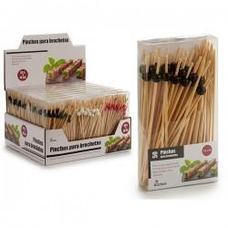 Ensemble à apéritif Bambou (9,5 x 17,5 x 3 cm) 50 pièces fonctionnel
