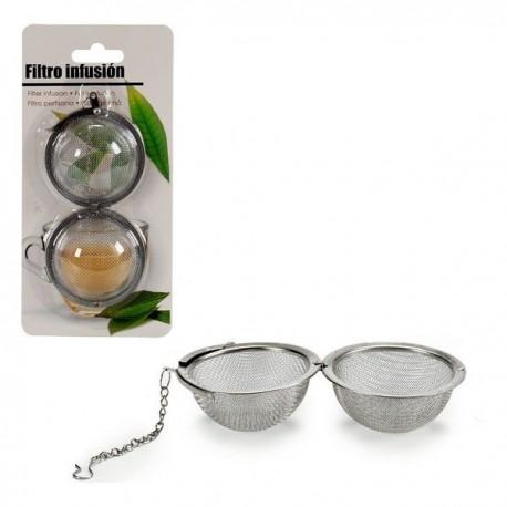 Filtre pour infusions (5,5 x 4 x 5,5 cm) fonctionnel