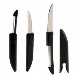 Eplucheur Noir (1,3 x 17 x 2,5 cm) fonctionnel