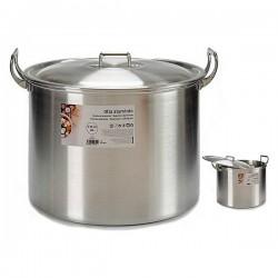 Casserole à cuisson lente Aluminium (30 L) (39 x 31 x 48,5 cm) fonctionnelle
