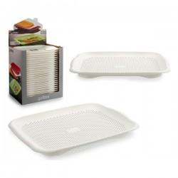 Egouttoir Blanc Plastique (27,5 x 3 x 36,5 cm) fonctionnel