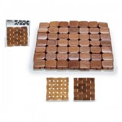 Dessous de plat (15 x 15 x 0,5 cm) Carré fonctionel