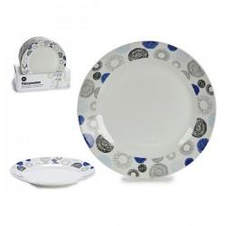 Assiette plate Porcelaine (diam 24,5 cm) fonctionnelle