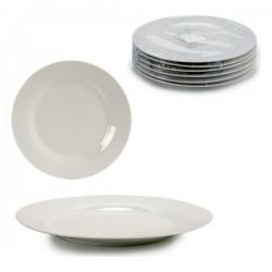 Assiette plate Porcelaine (diam 27 cm) fonctionnelle