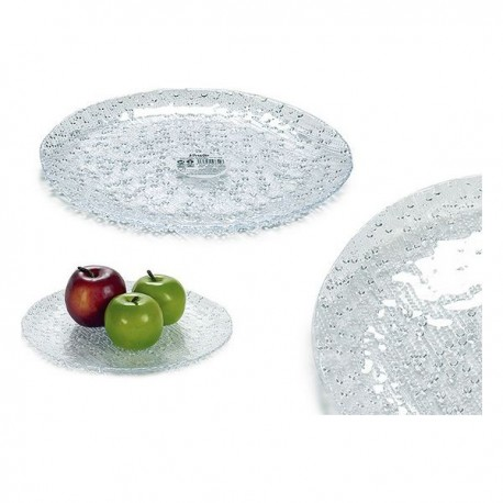 Assiette Vivalto (28 x 2,5 x 28 cm) fonctionnelle