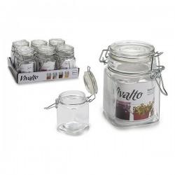 Pot en verre Vivalto (6,5 x 9,5 x 9 cm) fonctionnel