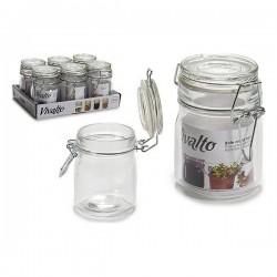 Pot en verre Vivalto (6,5 x 9,5 x 9,5 cm) fonctionnel