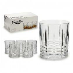 Verre à whisky Vivalto (6 pièces) 23 cl fonctionnel